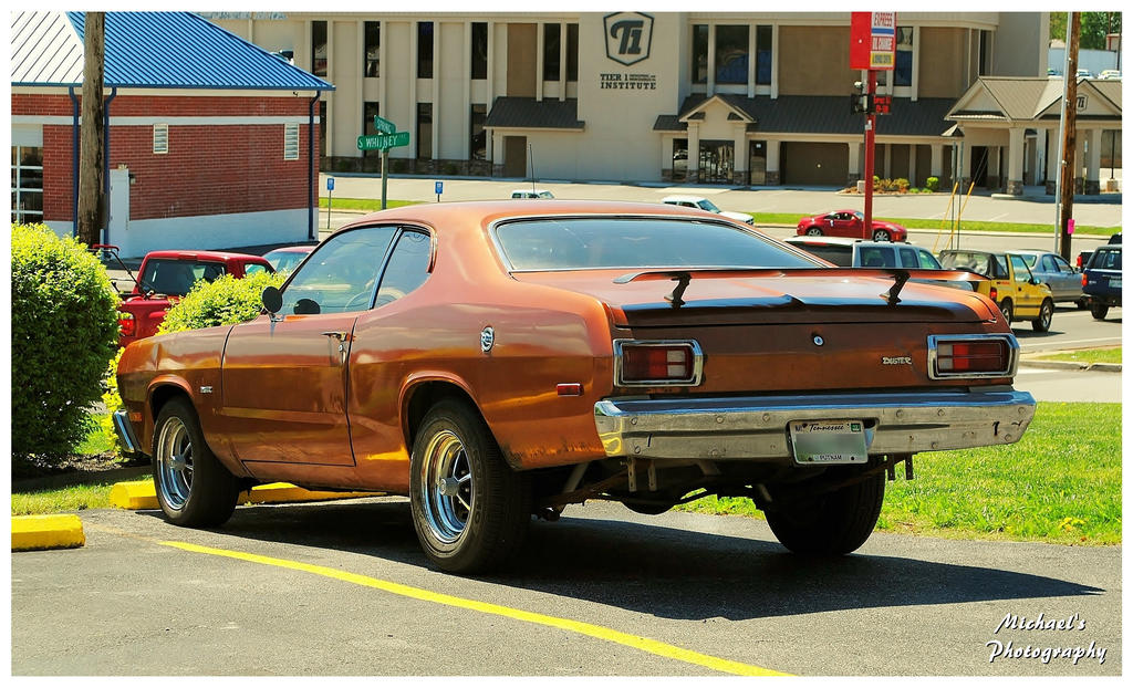 a cool copper colored plymouth duster by theman268 on deviantart. Black Bedroom Furniture Sets. Home Design Ideas