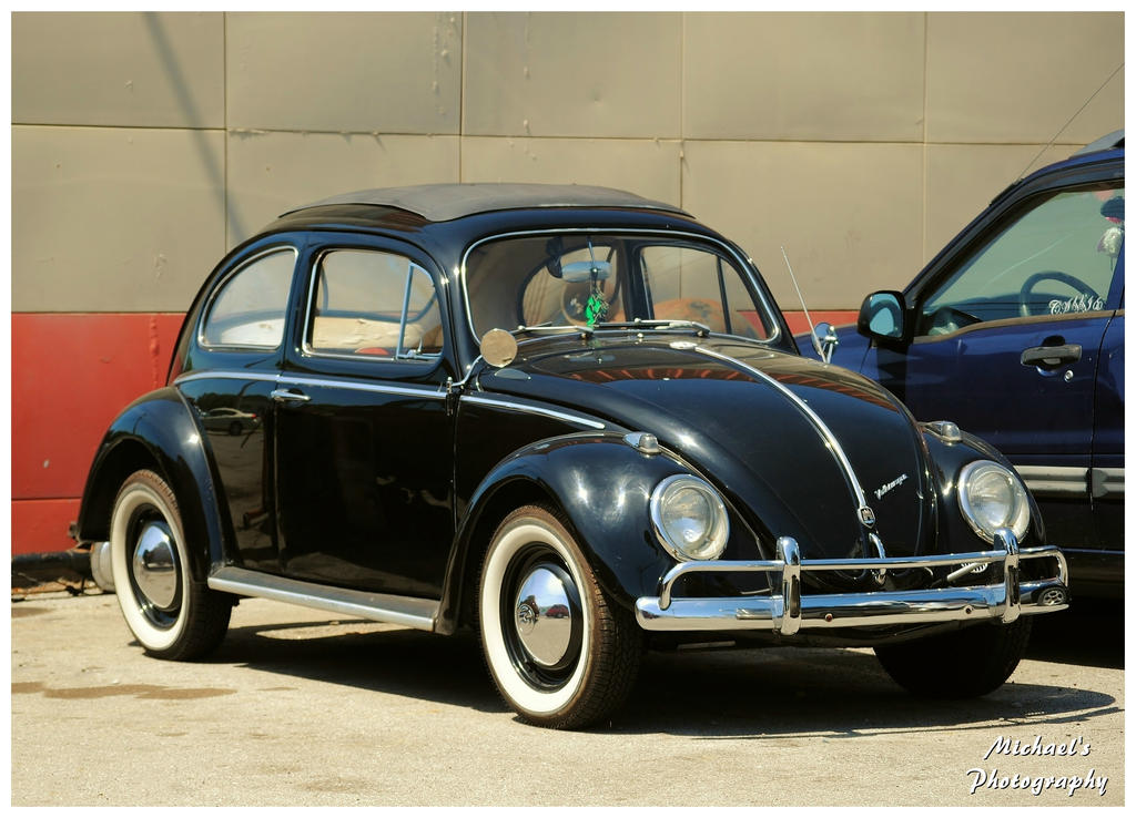 Black Vw Beetle Classic A nice classic vw beetle by