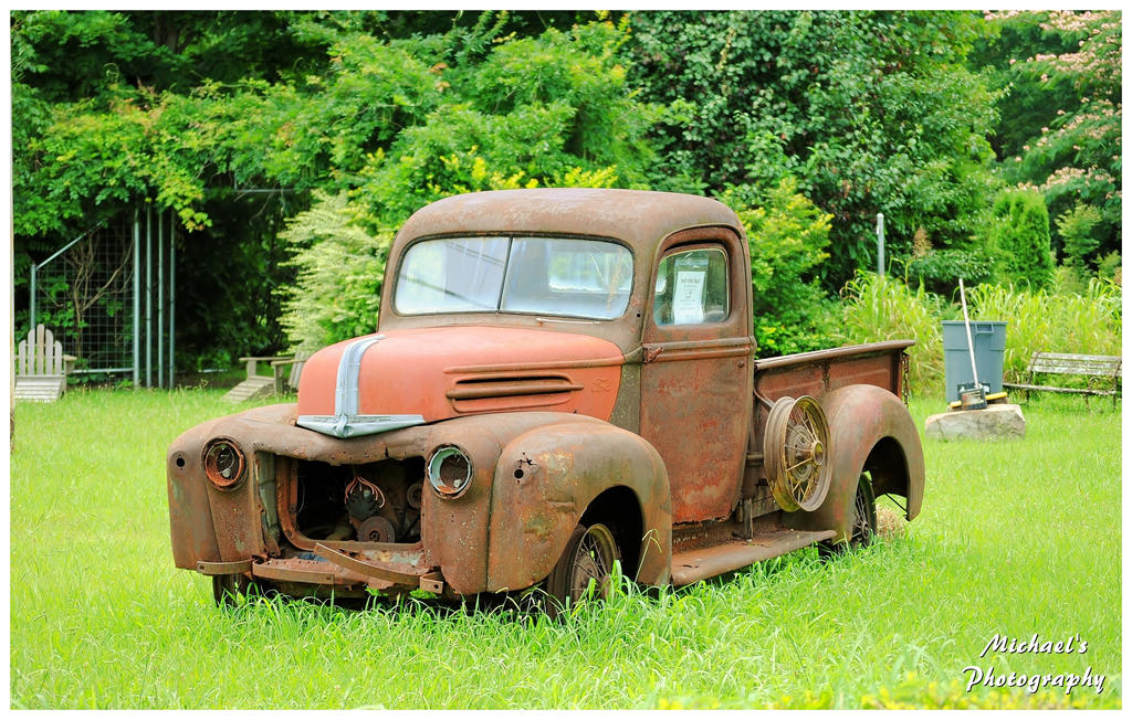 A Rusty Ford Truck by TheMan268 on DeviantArt