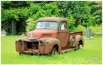 A Rusty Ford Truck
