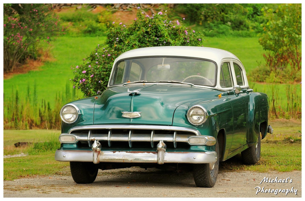 A Green 1954  Chevy by TheMan268