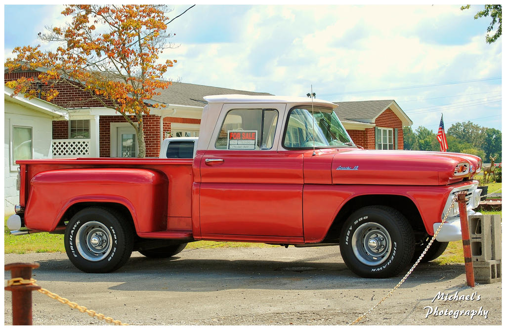A 1961  Chevy Apache 10 by TheMan268
