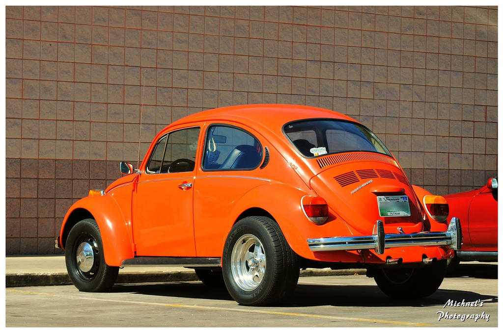 A UT Orange VW Bug by TheMan268