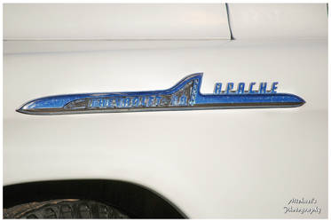 1959 chevy apache fender emblems