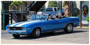 A 1969 Camaro SS Convertible