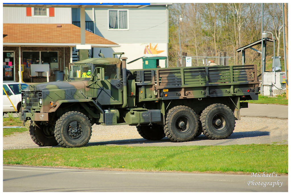 A Six Wheel Drive Military Truck by TheMan268