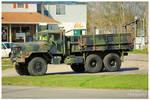 A Six Wheel Drive Military Truck