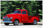 A 1950 Chevy Series 3100 Pickup Truck