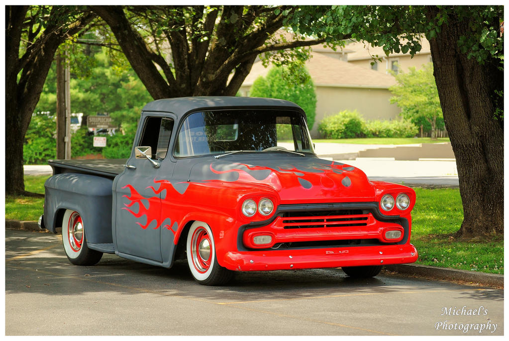 1958 Chevy Truck by TheMan268