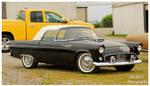 A Sharp Black 1955 Thunderbird