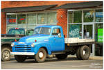 Flatbed Chevy Truck