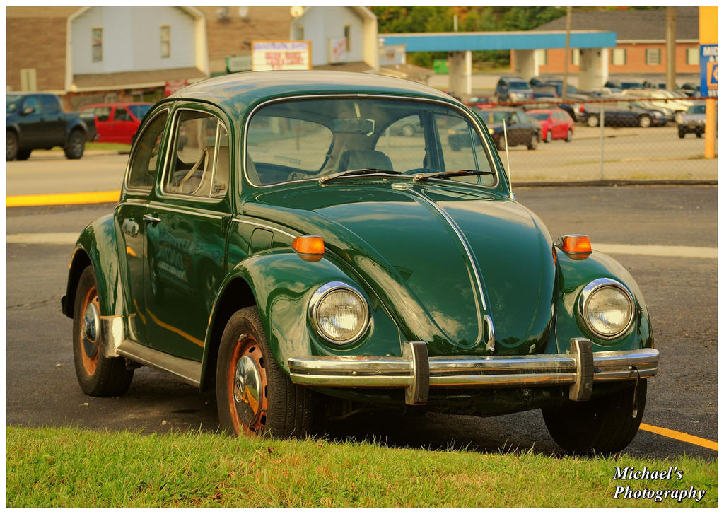 Green VW by TheMan268