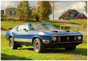 A 1973 Mach 1 Mustang by TheMan268