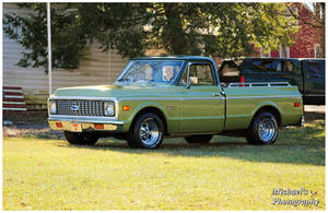 Cool Green Chevy Truck by TheMan268