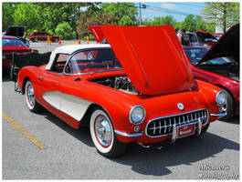 A 1956 Corvette by TheMan268
