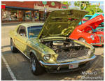 A Sharp Green Mustang