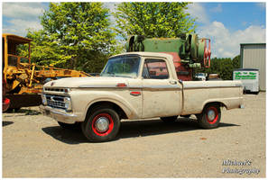 A Cool Old Ford Truck by TheMan268