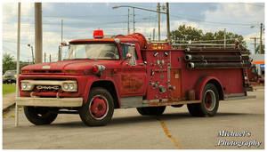 An Old GMC Firetruck