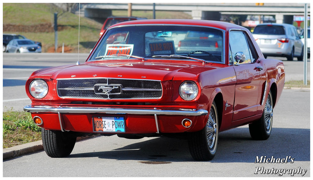 A Nice Red Mustang by TheMan268