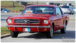 A Nice Red Mustang