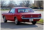 Nice Red Mustang