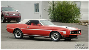 A 1973 Mustang Convertible by TheMan268
