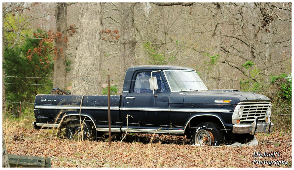A Classic Ford Truck Rustin\' Away by TheMan268 on DeviantArt
