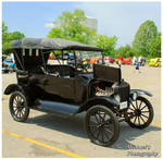 A 1919 T Model Ford