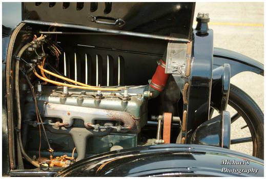 T Model 4 Cylinder Engine