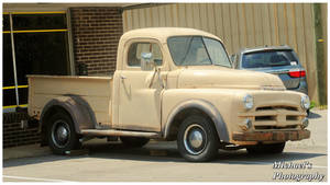 An Early 50's Dodge Pickup