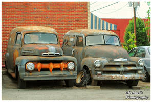 Ford and Chevy Rusting Away by TheMan268