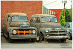 Ford and Chevy Rusting Away