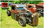 A Ford Rat Rod Truck