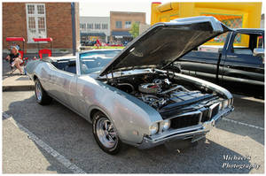 A 1969 Oldsmobile Cutlass Convertible by TheMan268