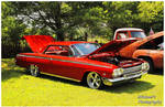 A Red Chevy Impala SS