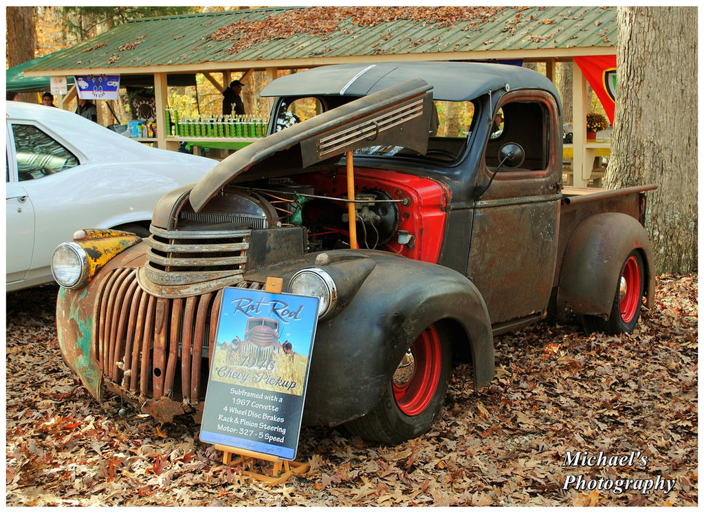 A 1946 Chevy Rat Rod Pickup by TheMan268 on DeviantArt