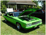 A 1973 Plymouth Road Runner