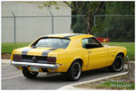 A Yellow 1969 Ford Mustang by TheMan268