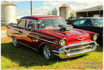 A Red 1957 Chevy