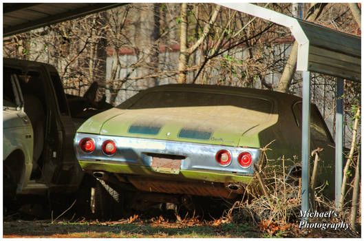 Poor Green Chevelle!