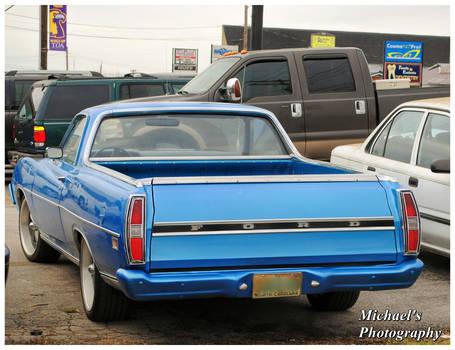 A 1971 Ford Ranchero