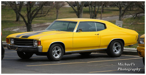 A Yellow 1972 Chevelle by TheMan268