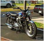 A Kawasaki W650 Motorcycle by TheMan268