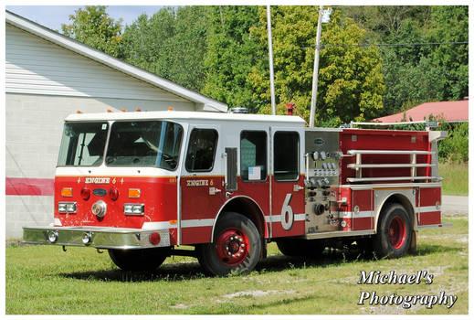 An E-One Firetruck