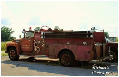 A Ford/American LaFrance Firetruck