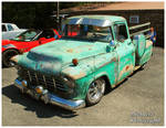 A 1956 Chevy 3100 Pickup Truck