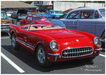 Red Corvette by TheMan268