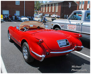 A Red Corvette Convertible by TheMan268
