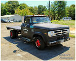 A 1970 Dodge 300 Flatbed Truck by TheMan268