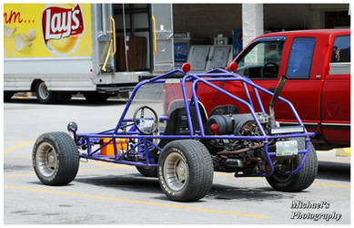 A Purple Rail Buggy by TheMan268
